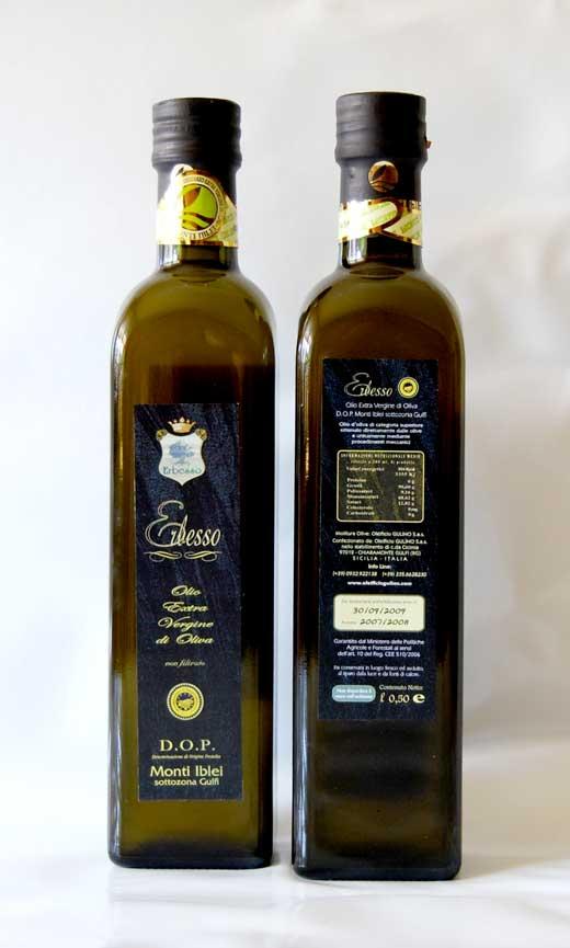 Erbesso Olivenöl aus Sizilien