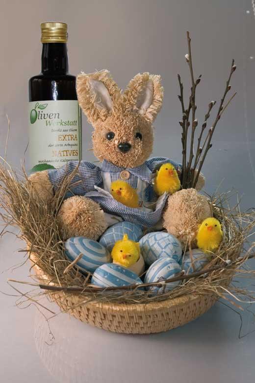 Ostern trifft Olivenwerkstatt