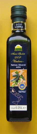 Olivenöl aus Umbrien