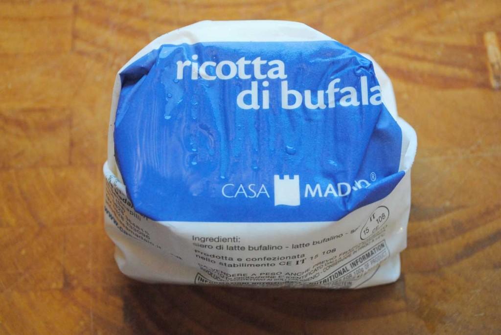 Ricotta di bufala