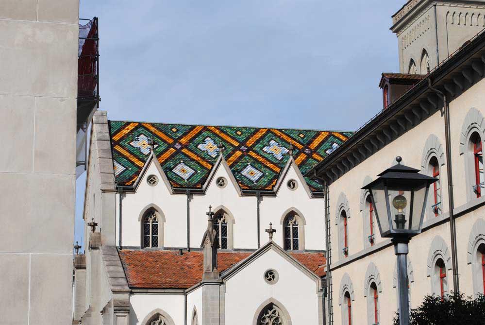 Dach der St. Laurenzen Kirche