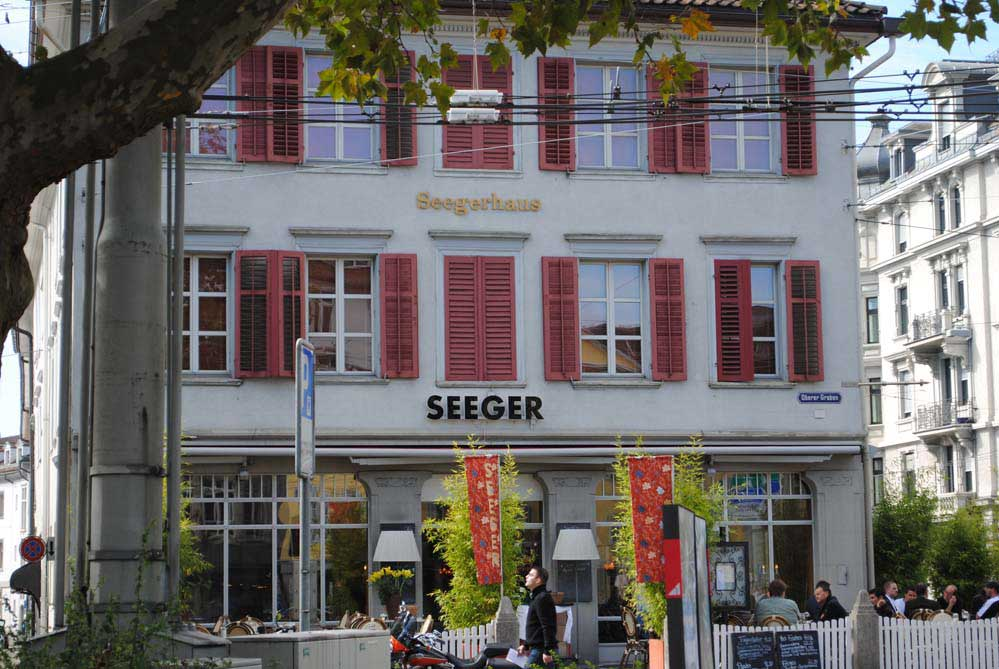Das Seegerhaus in St. Gallen