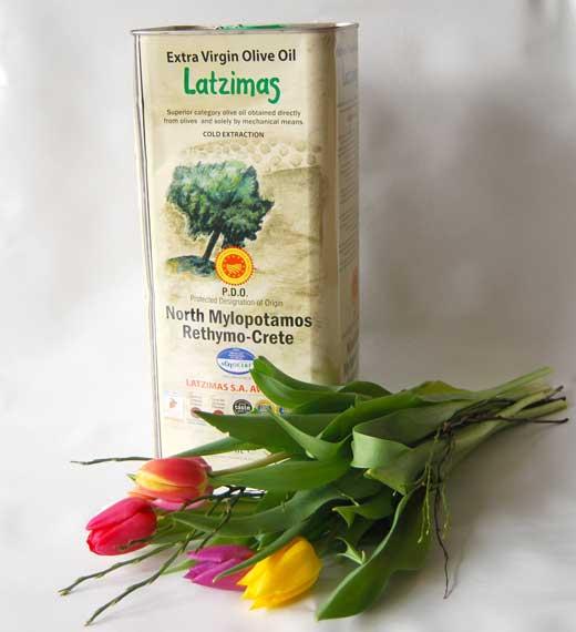 Latzimas Olivenöl Extra Nativ aus Kreta