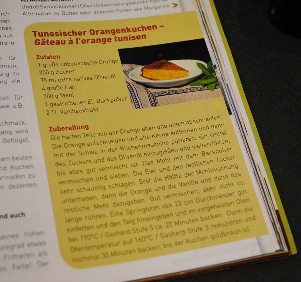Rezept für Orangenkuchen