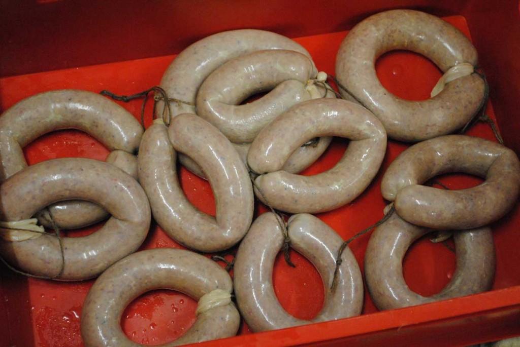 Schwartenwurst