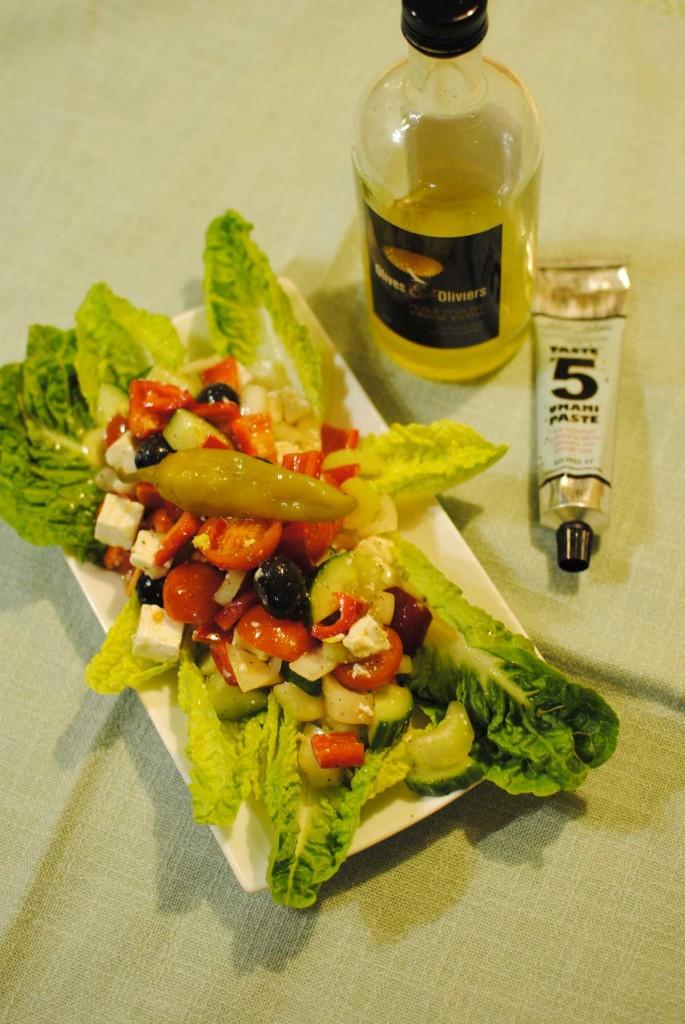 Bauernsalat mit Umami-Pasten-Dressing