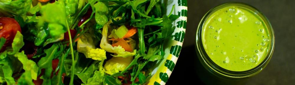 Jamies gritzegrünes Salatdressing