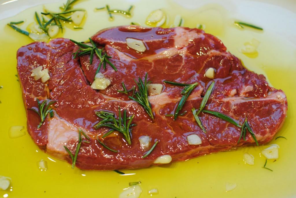 Nacken vom American Hereford-Beef