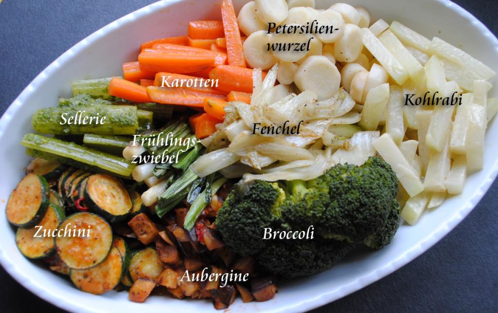 Gemüseplatte