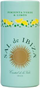 Sal de Ibiza -Sal de Ibiza - Granito mit grünem Pfeffer und Zitrone.